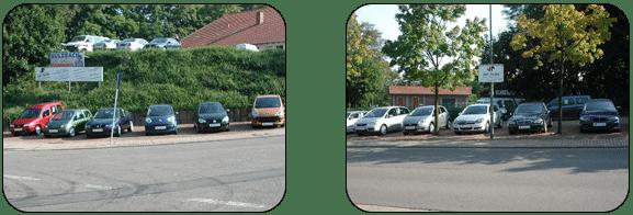 Gelände-Ansicht und Fahrzeugangebote - Teil 1