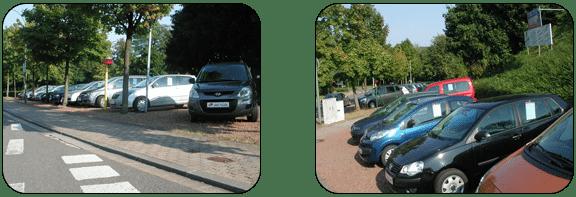 Gelände-Ansicht und Fahrzeugangebote - Teil 2
