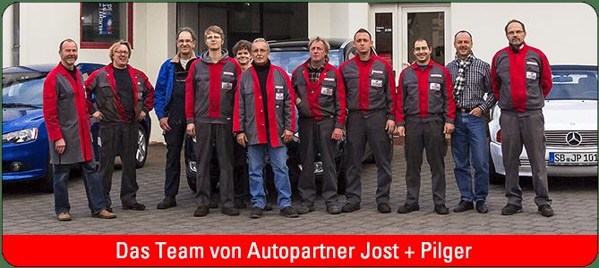 Wir sind für Sie da! Das Team Jost + Pilger
