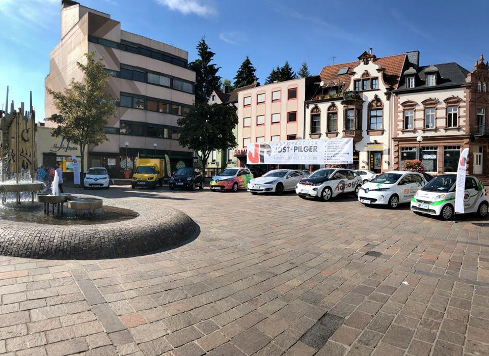 Jost + Pilger als Teil des Aktionstages der E-Mobilität in Sulzbach